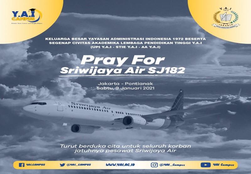Pray For Sriwijaya Air SJ182