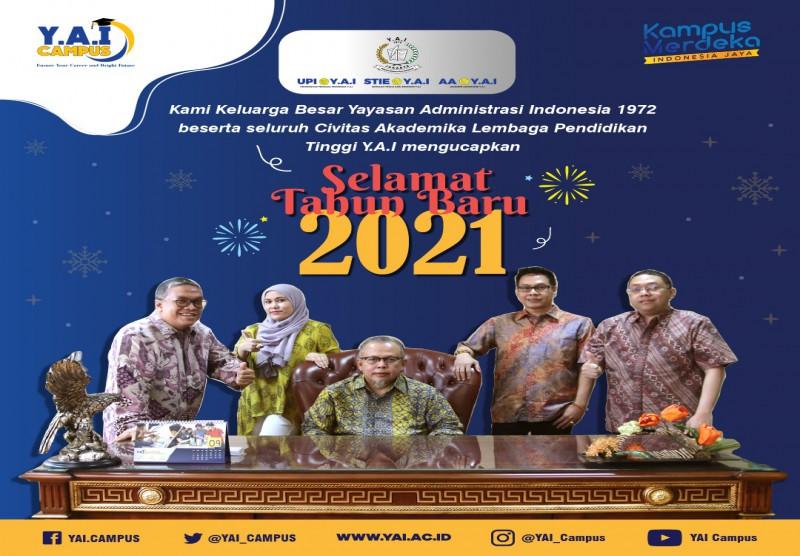 Selamat Tahun Baru 1 Januari 2021